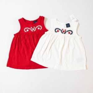Gap kids tank tops (set of 2) size 2T